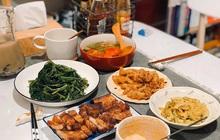 Chàng trai khoe mâm cơm nhà ngon như cơm tiệm, mỗi lần mở tiệc lẩu hay thịt nướng là bạn bè xếp hàng xin ăn ké