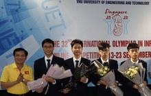 """ĐT Việt Nam giành """"vàng"""" tại Olympic Tin học quốc tế 2020"""