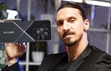 """Cầu thủ Ibrahimović khoe ảnh card đồ họa RTX 3090 siêu """"xịn sò"""" khiến nhiều anh em game thủ gato"""
