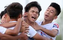 Cầu thủ trẻ Học viện Nutifood-JMG phát triển thể hình rõ rệt sau 5 năm ăn tập với điều kiện tốt nhất