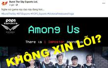 Sau content công kích cá nhân Slayder, BTS không xin lỗi Team Flash