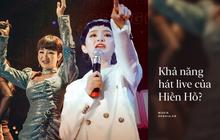 Liên tiếp bị chê bai khả năng live trong chưa đầy 1 tháng, thực lực hát của Hiền Hồ có đến mức bị chỉ trích?