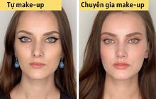 """Loạt ảnh khi các cô gái tự trang điểm và để chuyên gia """"ra tay"""" sẽ khiến bạn phải trầm trồ vì sự biến đổi kỳ diệu của gương mặt"""