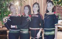 Hội bạn thân nàng hậu diện trang phục dân tộc đọ sắc, mặt mộc 100% của H'Hen Niê và Khánh Vân giật trọn spotlight