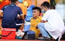 Thêm một tuyển thủ Việt Nam thấp thỏm với cái đầu gối, nghi chấn thương nặng như Duy Mạnh