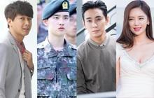 """4 diễn viên Hàn đưa ra quyết định gây sốc: """"Thái tử Shin"""" thú nhận dùng ma túy, D.O. (EXO) gây tranh cãi vì nhập ngũ sớm"""