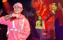 Netizen tranh cãi đoạn clip Binz diễn Bigcityboi trước mặt một bé gái trong quán bar, còn nghi ngờ hát nhép?