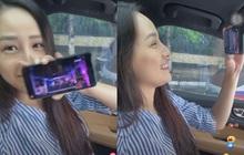 Mai Phương Thuý đúng là u mê: Vừa nghêu ngao hát nhạc Noo Phước Thịnh đã quay ra tít mắt khen vì chàng quá đẹp trai
