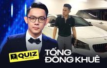 Quiz: Ai mua xe 5 tỷ đã rõ nhưng đố bạn trả lời đúng hết loạt câu hỏi về CEO Tống Đông Khuê