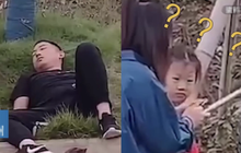 Ông bố bất ngờ nằm bất động bên đường khi đi đón con, con gái hoảng sợ khi gọi mãi không dậy, nguyên nhân đằng sau gây tranh cãi
