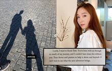 Jessica gửi lời cảm ơn bạn trai đại gia ở cuối cuốn tiểu thuyết gây tranh cãi, fan rần rần nghi idol sắp lên xe hoa