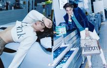 """Kai (EXO) gây choáng với bộ ảnh tạp chí mới: Diện áo croptop khoe eo, mặc váy cùng phụ kiện """"bánh bèo"""" sao cứ sai sai"""