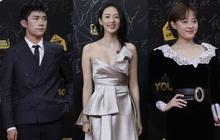 """Thảm đỏ lễ trao giải Phi Thiên Tinh Quang 2020: Mỹ nhân """"30 Chưa Phải Là Hết"""" chiếm trọn spotlight đánh bật đàn chị Tôn Lệ"""