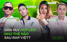 Cú lột xác ngoạn mục của dàn HLV sau Rap Việt: Hóa hết thành ông hoàng bà chúa MXH, Binz - Karik đắt show, Wowy và Suboi thành hiện tượng