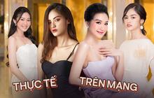 Dàn thí sinh Hoa hậu Việt Nam 2020 trên ảnh dự thi và ngoài đời, bản sao Châu Bùi và Nhã Phương có lung linh như kỳ vọng?