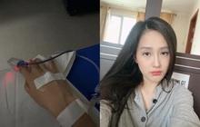 Mai Phương Thuý khiến fan lo lắng khi đăng ảnh nhập viện cấp cứu