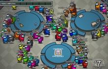 Xuất hiện Among Us phiên bản 100 người chơi cùng lúc?