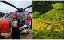 Nữ sinh người H'Mông đầu tiên của Mù Cang Chải được ngắm mùa vàng bằng trực thăng vì thành tích học xuất sắc