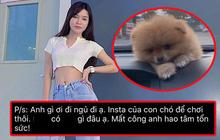 """Nửa đêm bạn gái Đặng Văn Lâm bức xúc vì hacker: """"Instagram của chó cưng để chơi thôi"""" mà cũng bị hack"""