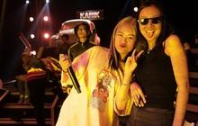 Suboi giản dị, nhí nhố trên sàn tập vòng Đối đầu cùng cả team Rap Việt