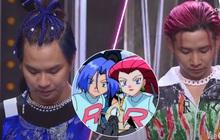 Thí sinh Rap Việt tiếp tục hoá hoạt hình: R.Tee - Ricky Star là bộ đôi rắc rối trong Pokémon?