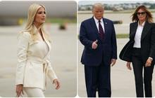 Ái nữ Ivanka và Đệ nhất phu nhân diện đồ nghìn USD dự tranh luận của ông Trump