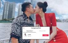 """Matt Liu gia nhập hội """"chỉ follow mình em"""" thì Hương Giang cũng có động thái """"đáp lễ"""" tương tự!"""