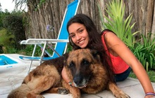 Chụp ảnh với chó cưng, cô gái trẻ bị con vật tấn công dữ dội khiến gương mặt tổn thương nặng nề