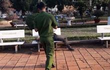 Tá hỏa phát hiện người đàn ông tử vong trên ghế đá hoa viên