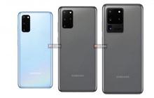 Đây là ảnh dựng chính thức của Galaxy S20, Galaxy S20+ và Galaxy S20 Ultra