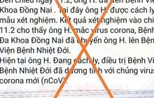 """Đăng tin giả về Covid-19, người """"đang ở bên Mỹ"""" đã bị tìm thấy ở Đồng Nai"""