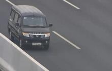 Đi ngược chiều trên cao tốc Hà Nội - Hải Phòng, lái xe bị phạt 17 triệu đồng