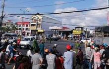 Cháu bé tử vong, người phụ nữ cầm lái trọng thương sau khi bị xe tải tông trúng ở TP Cà Mau