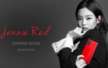 Lộ ảnh Jennie (Blackpink) siêu ngầu với Samsung Galaxy S20 màu đỏ mới toanh, không có trong event ra mắt