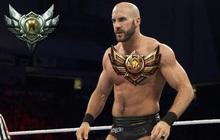 Ngôi sao đấu vật WWE Cesaro - Hùng hổ trên võ đài là thế, nhưng chơi LMHT 150 trận vẫn Đồng 3