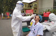 Xét nghiệm lần 2 cho 7.000 nhân viên y tế Bệnh viện Bạch Mai