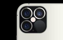 Lộ thiết kế cụm camera sau của iPhone 12 Pro, cảm biến LiDAR siêu to