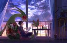 """Nhìn loạt tranh """"Pokémon và con người cùng chung sống hạnh phúc"""" mà chỉ muốn bắt chúng về làm pet"""