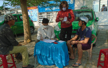 Bình Thuận: 30 phút xử phạt chục trường hợp không đeo khẩu trang nơi công cộng