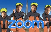 """Tự """"phân thân"""" như Naruto giữa buổi họp online để trêu đồng nghiệp: Đủ giật giải sáng tạo app Zoom của năm chưa?"""