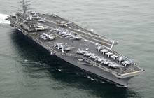 Tàu sân bay Mỹ thứ 4 có ca Covid-19
