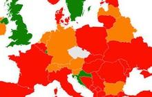 Séc công bố bản đồ nguy cơ lây nhiễm Covid-19