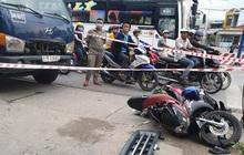 Dừng đèn đỏ, người đàn ông bị xe tải mất lái tông chết trên quốc lộ 13