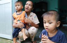 """2 đứa trẻ đói ăn ở nhà chờ mẹ vào viện chăm cha bị tai nạn mà không đủ tiền chữa trị: """"Mẹ ơi, cha con đâu rồi"""""""