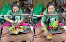 Tưởng đâu ngồi… nặn đất sét, hoá ra người phụ nữ này đang làm món đặc sản tuổi thơ nổi tiếng châu Á giờ gần như đã biến mất