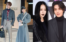 """Bộ đôi đi sự kiện """"chặt chém"""" nhất xứ Hàn: Lee Dong Wook - Han Ye Seul ăn mặc dị kết cỡ, ai dè gây sốt vì đẹp như ma cà rồng"""