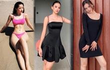 """Instagram look của sao Việt tuần qua: Chi Pu diện bikini rất """"chiến"""", Lan Ngọc - Tiểu Vy đọ dáng với váy đen"""