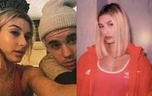 """Justin Bieber mùi mẫn chúc mừng sinh nhật vợ kèm ảnh chụp vội, dân tình """"sốc visual"""" luôn vì góc nghiêng thần thánh của Hailey"""