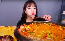"""Từng tuyên bố """"có chết cũng sẽ không làm mukbang nữa"""", 2 tháng sau nữ YouTuber Hàn có động thái khiến dân tình """"câm nín"""""""