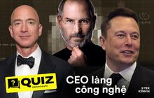 Trước khi đạt đỉnh cao sự nghiệp, các CEO hàng đầu của làng công nghệ đã làm nhiều công việc mà chẳng ai ngờ tới